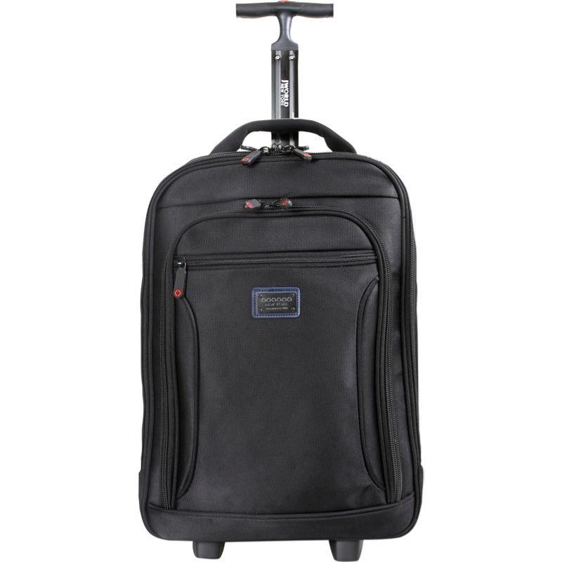 ジャイワールドニューヨーク メンズ スーツケース バッグ Astor Business Carry-On Black