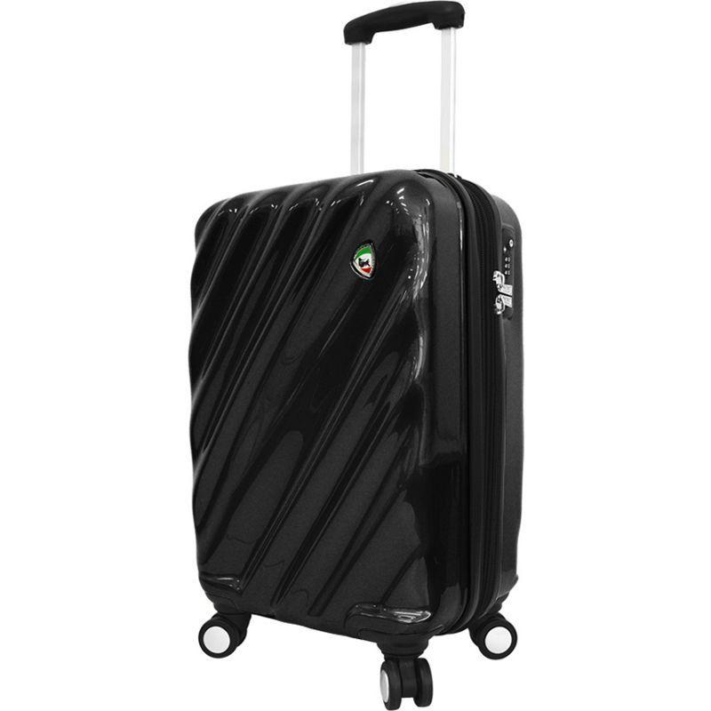 ミアトロ メンズ スーツケース バッグ Onda Fusion Hardside 20 Spinner Carry-On Black