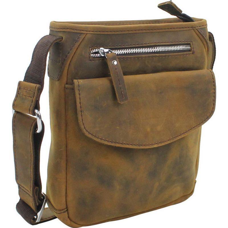 ヴァガボンドトラベラー メンズ ボディバッグ・ウエストポーチ バッグ 10 Leather Crossbody Bag Vintage Brown