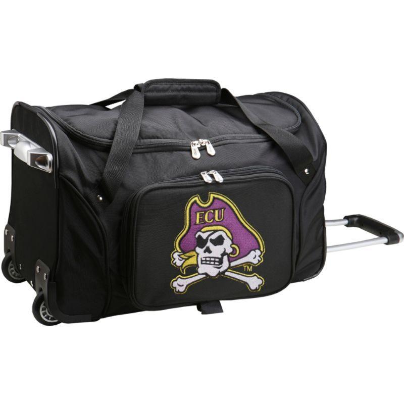 デンコスポーツ メンズ スーツケース バッグ NCAA 22 Rolling Duffel East Carolina University Pirates