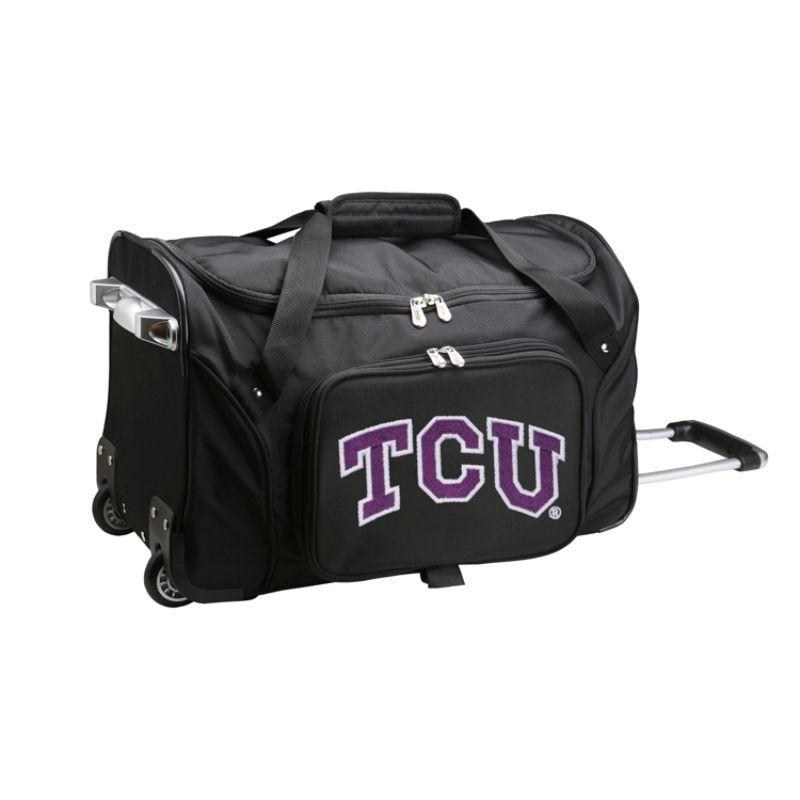 デンコスポーツ メンズ スーツケース バッグ NCAA 22 Rolling Duffel Texas Christian University Horned Frogs