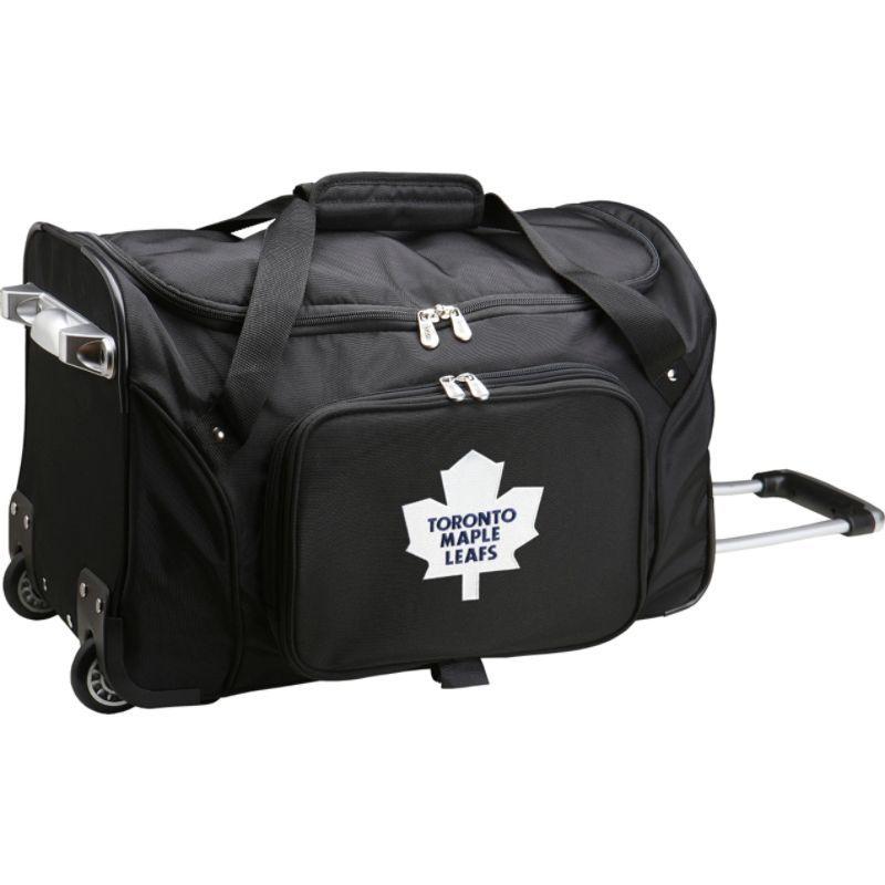 デンコスポーツ メンズ スーツケース バッグ NHL 22 Rolling Duffel Toronto Maple Leafs