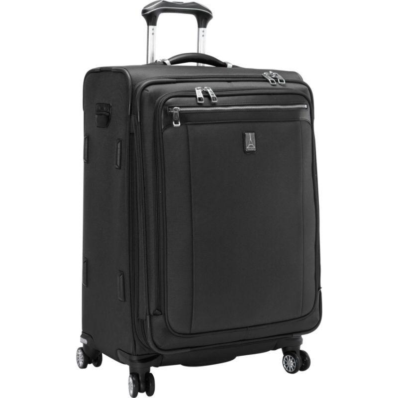 トラベルプロ メンズ スーツケース バッグ Platinum Magna 2 25 Expandable Spinner Black