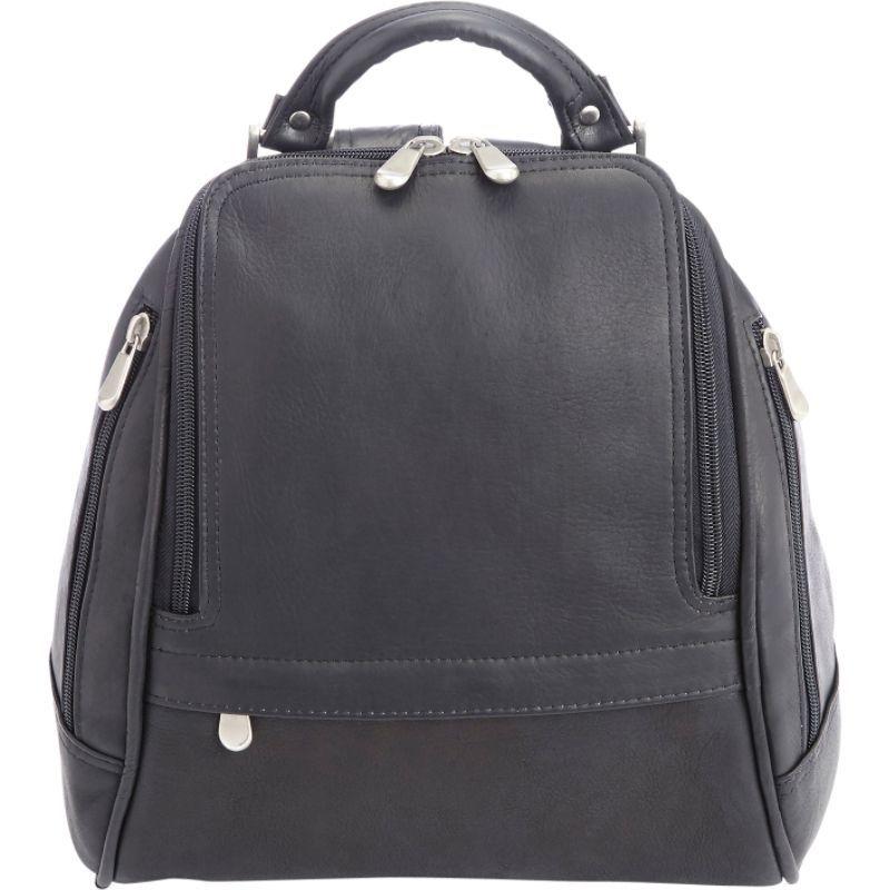 ロイスレザー レディース ショルダーバッグ バッグ Women's Colombian Leather Everyday Shopping Tote Black