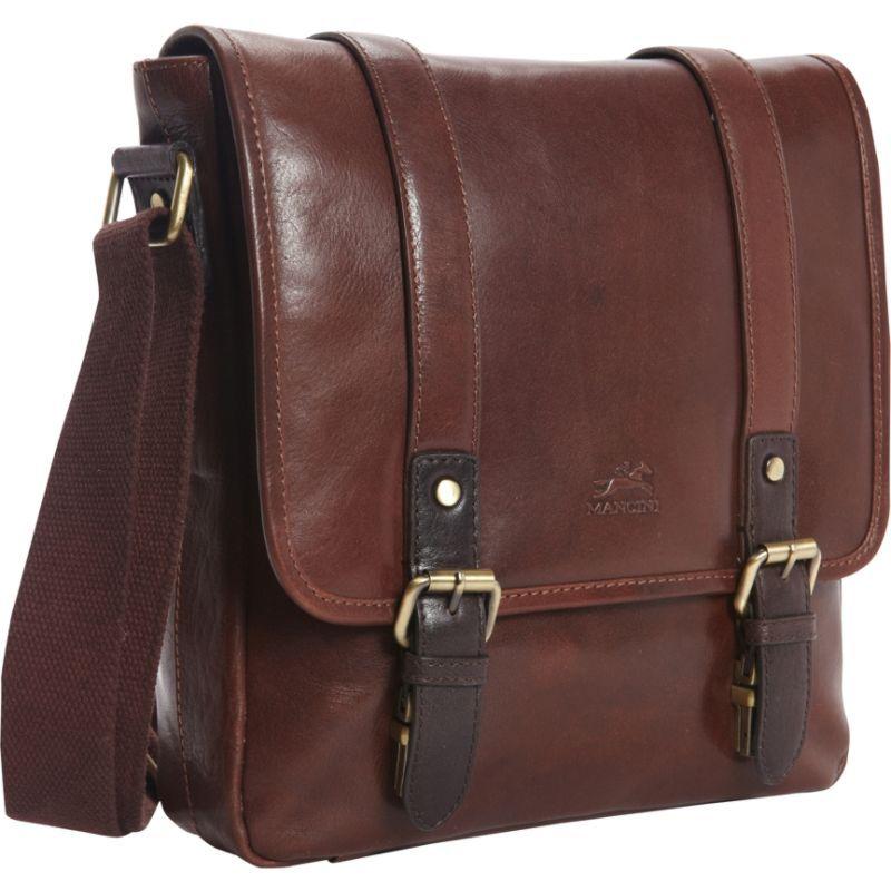 マンシニレザーグッズ メンズ ショルダーバッグ バッグ RFID Secure Tablet Bag - Exclusive Brown