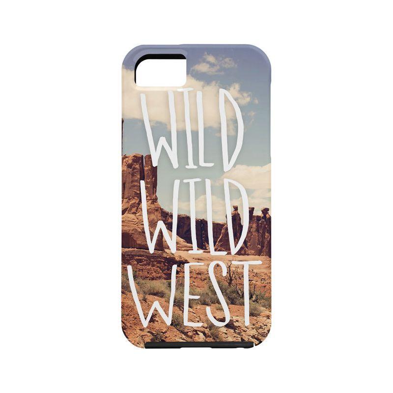 デニー メンズ PC・モバイルギア アクセサリー Leah Flores iPhone 5/5s Case Desert - Wild Wild West