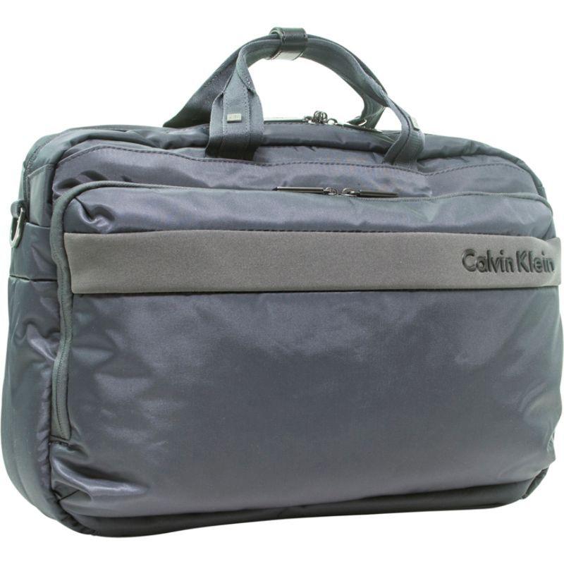 カルバンクライン メンズ スーツケース バッグ Flatiron 3.0 Laptop Case Grey