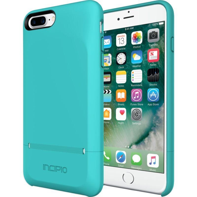 インシピオ メンズ PC・モバイルギア アクセサリー Stashback for iPhone 7 Plus Turquoise