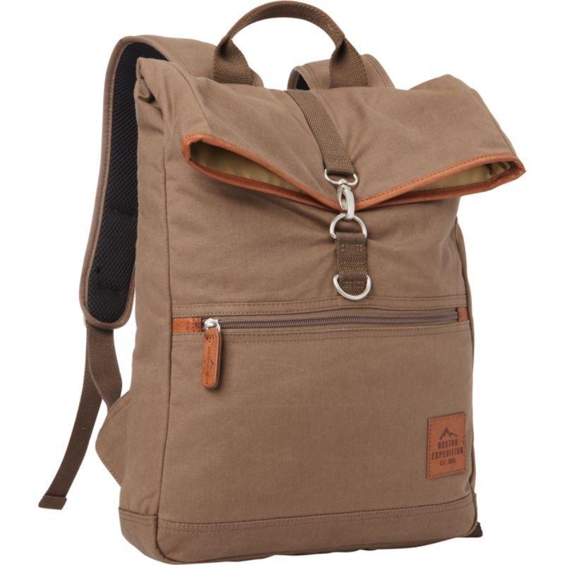 バクストン メンズ スーツケース バッグ Expedition II Huntington Gear Fold-Over Backpack Olive