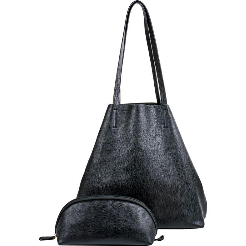 ハイデザイン メンズ ボディバッグ・ウエストポーチ バッグ Audrey Leather Crossbody Black