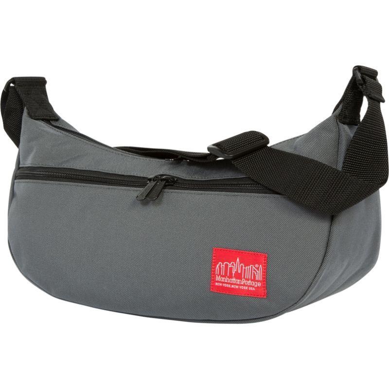 マンハッタンポーテージ メンズ ショルダーバッグ バッグ Crescent Street Shoulder Bag Gray