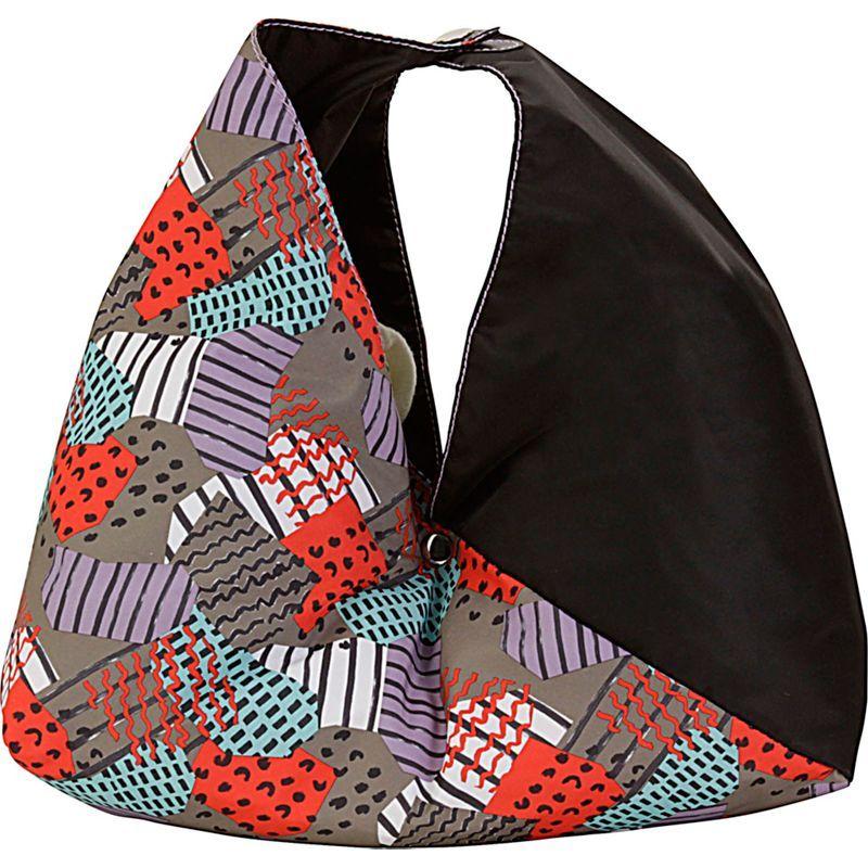 ハダキ メンズ トートバッグ バッグ Large Origami Tote Color Block/Black