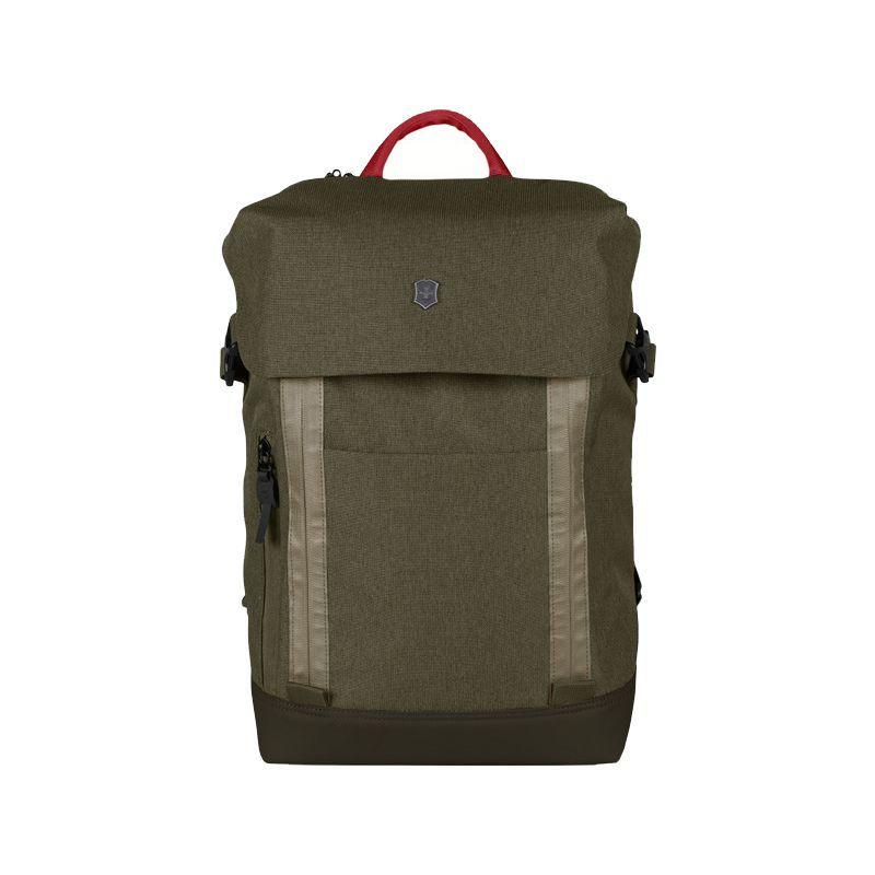 ビクトリノックス メンズ スーツケース バッグ Altmont Classic Deluxe Flapover Laptop Backpack Olive Green