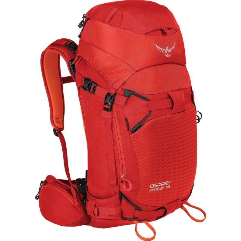オスプレー メンズ ボストンバッグ バッグ Kamber 42 Hiking Backpack Ripcord Red S/M