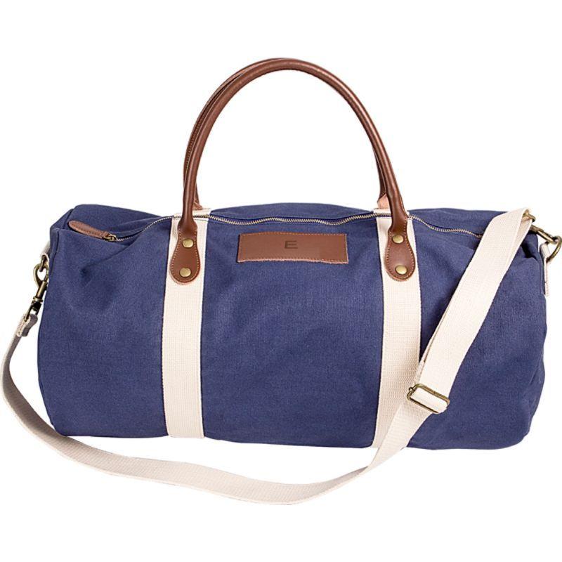 キャシーズ コンセプツ メンズ スーツケース バッグ Monogram Duffel Bag Blue - E