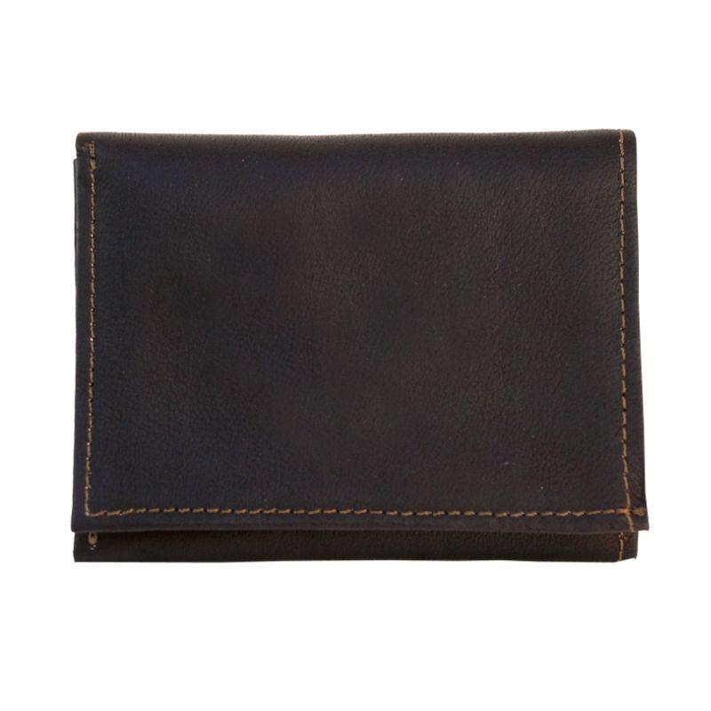 ピエール メンズ 財布 アクセサリー Tri-Fold Wallet Chocolate