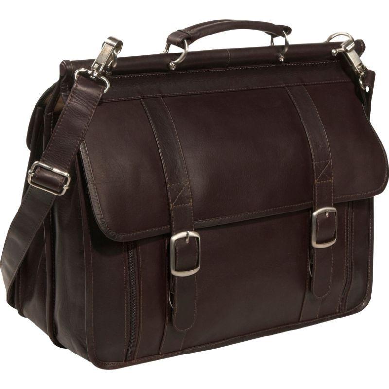 ピエール メンズ スーツケース バッグ European Laptop Briefcase Chocolate