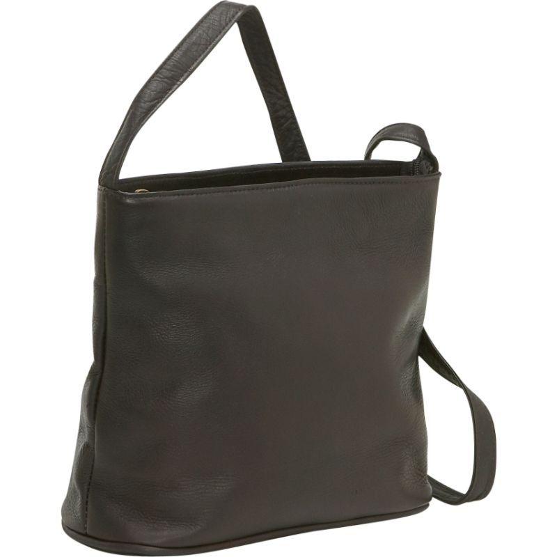 ルドネレザー メンズ ショルダーバッグ バッグ Zip Top Shoulder Bag Cafe
