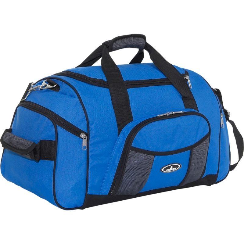 エバーレスト メンズ スーツケース バッグ 24 Deluxe Sports Duffel Royal Blue/Gray