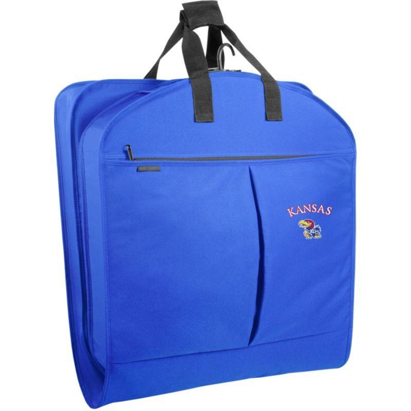 ウォーリーバッグ メンズ スーツケース バッグ University of Kansas 40 Suit Length Garment Bag Royal