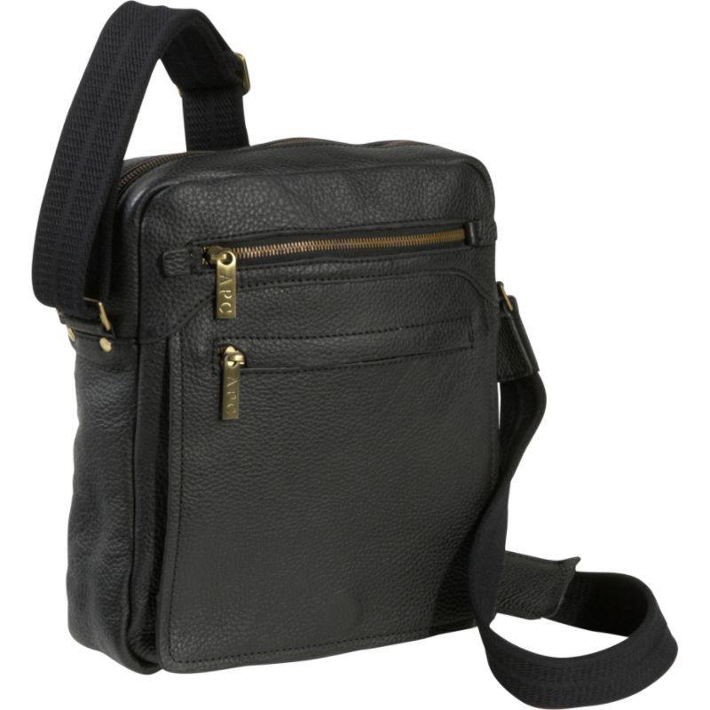 アメリ メンズ ショルダーバッグ バッグ Front Flap Messenger Bag Black