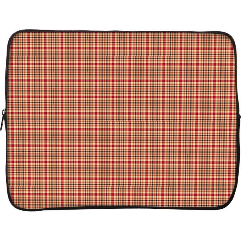デザイナースリーブス メンズ スーツケース バッグ 13 Laptop Sleeve by Got Skins? & Designer Sleeves Rusty Plaid