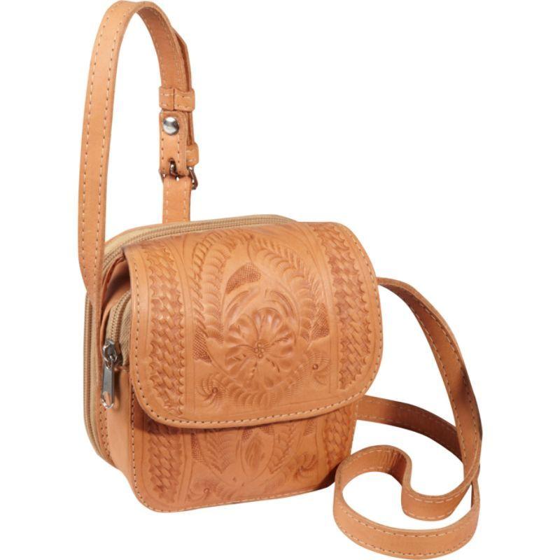 ロピンウェスト メンズ ボディバッグ・ウエストポーチ バッグ Small Cross-body Bag Natural