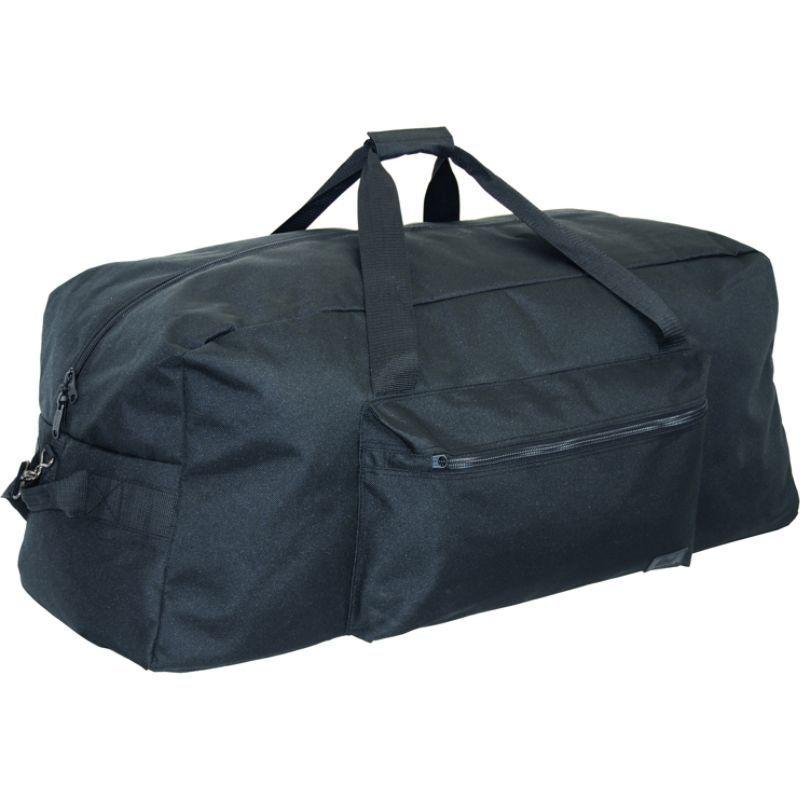 ネットパック メンズ スーツケース バッグ 36 1200 D Interlace Poly Large Base Duffel Black