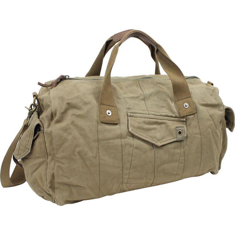 ヴァガボンドトラベラー メンズ スーツケース バッグ 20 Large Canvas Travel Duffel Bag Green