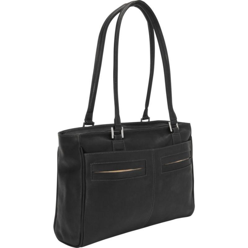 ピエール メンズ スーツケース バッグ Ladies Laptop Tote With Pockets Black
