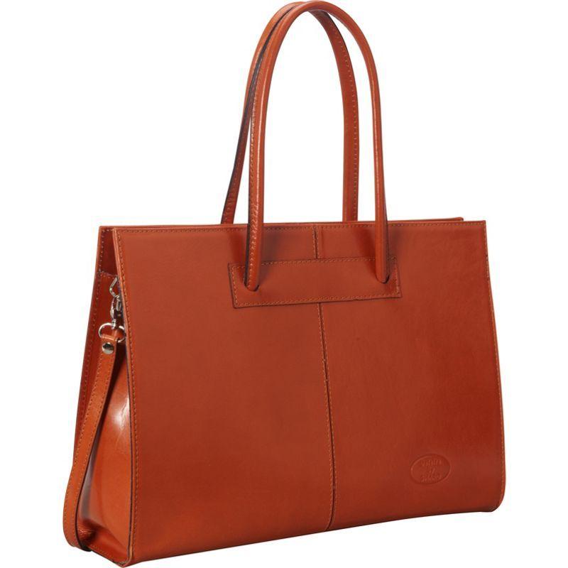 シャロレザーバッグス レディース スーツケース バッグ Women's Genuine Leather Laptop Tote Apricot