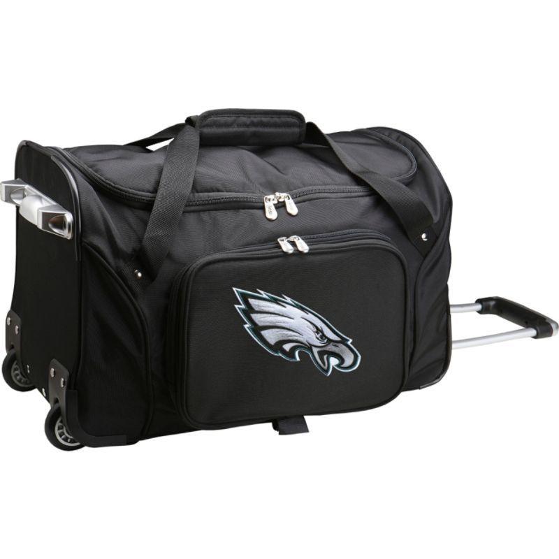 デンコスポーツ メンズ スーツケース バッグ NFL 22 Rolling Duffel Philadelphia Eagles