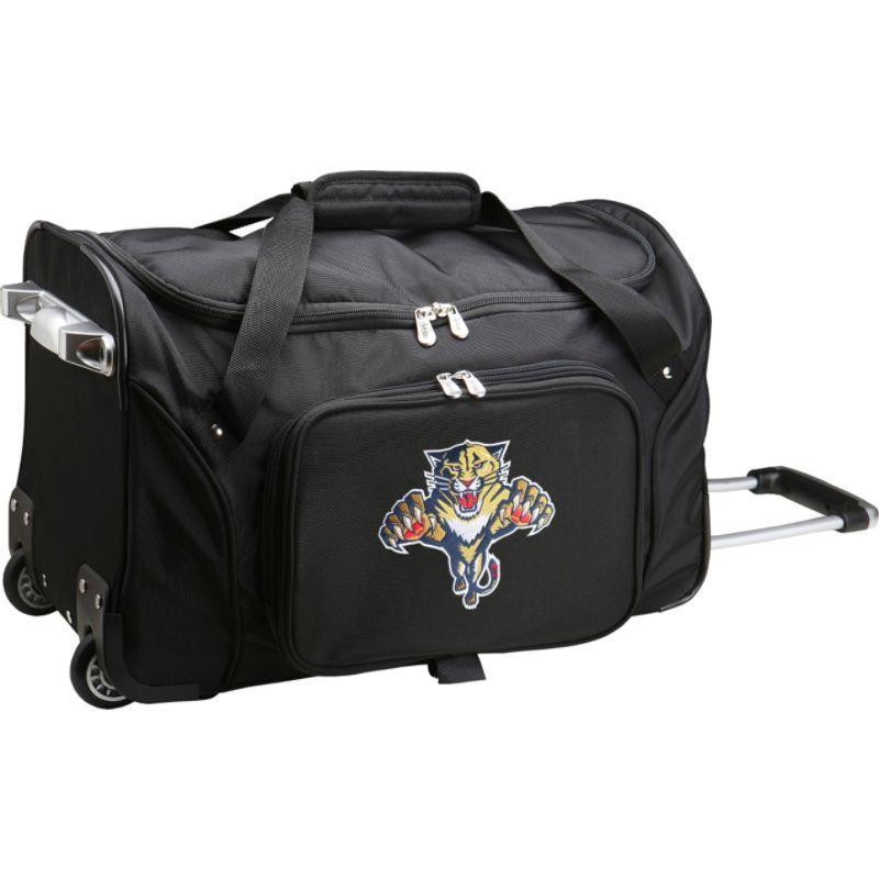 デンコスポーツ メンズ スーツケース バッグ NHL 22 Rolling Duffel Florida Panthers