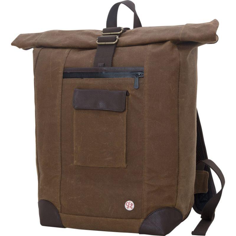 トーケン メンズ スーツケース バッグ Waxed Montrose Backpack Field Tan