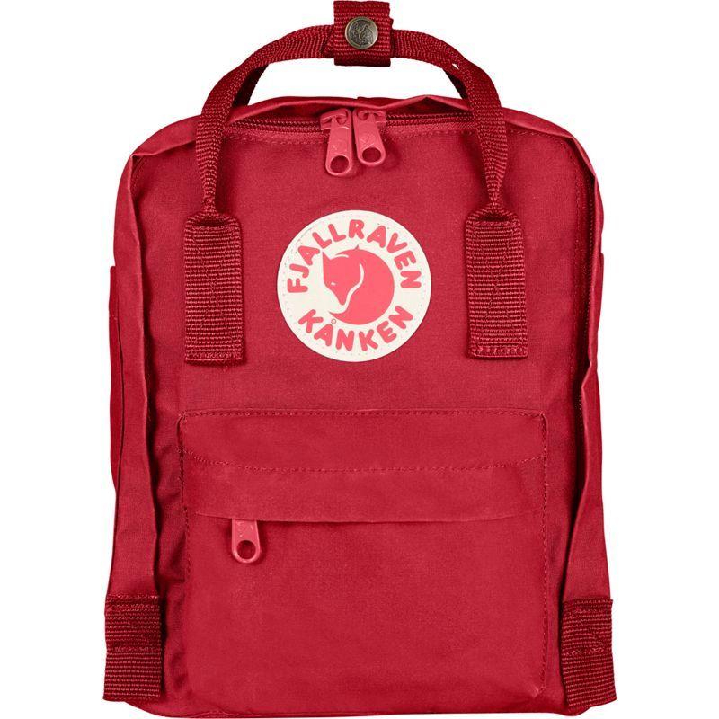 フェールラーベン メンズ バックパック・リュックサック バッグ Kanken Mini Backpack Deep Red