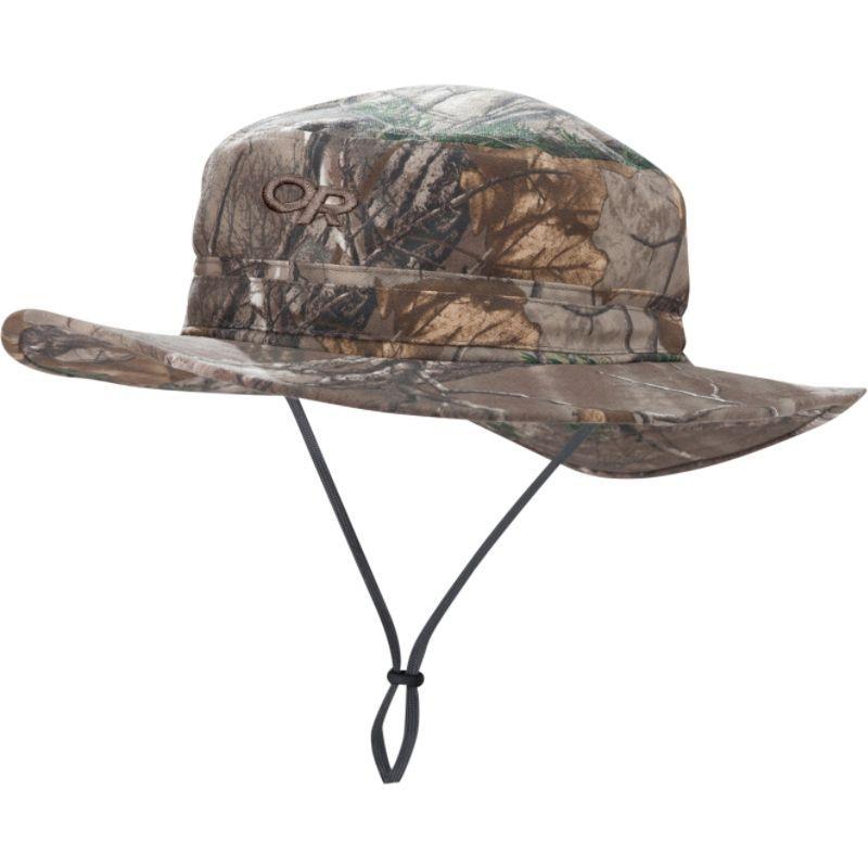 アウトドアリサーチ メンズ 帽子 アクセサリー Helios Sun Hat Camo RealTree Xtra LG