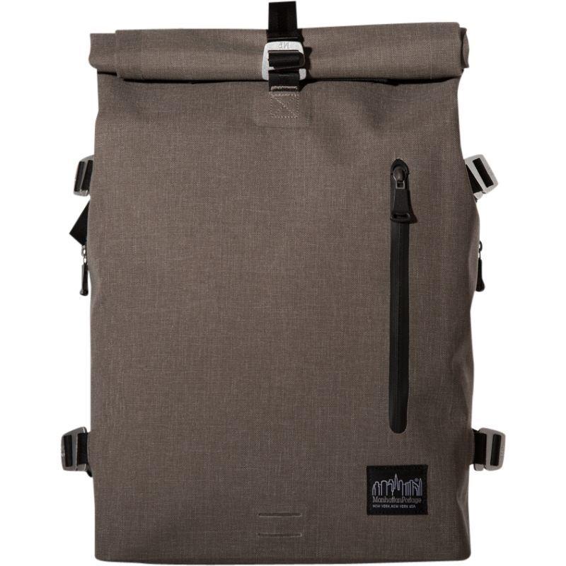 マンハッタンポーテージ メンズ スーツケース バッグ Harbor Backpack (MD) Dark Brown