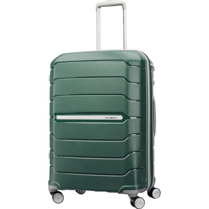 サムソナイト メンズ スーツケース バッグ Freeform 24 Hardside Spinner Sage Green