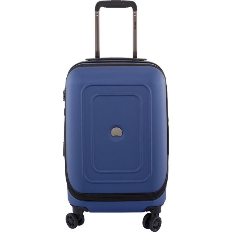 デルシー メンズ スーツケース バッグ Cruise Lite Hard 19 Intl. Carry On Exp. Spinner Trolley Blue