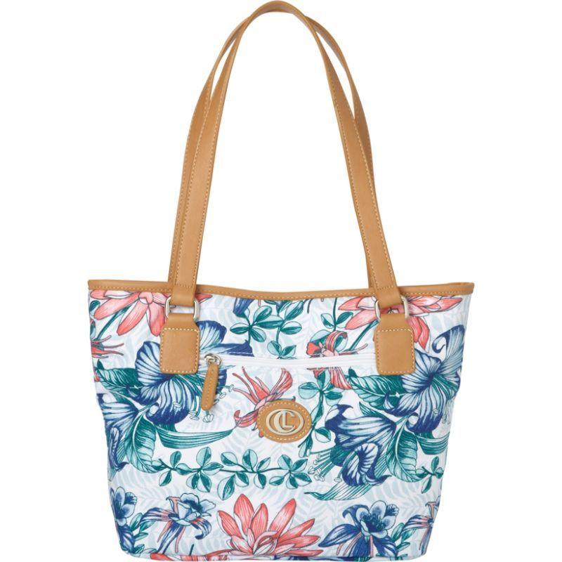 アウリールキャリーランド メンズ トートバッグ バッグ Floral Paradise Shopper Tote Blue Multi