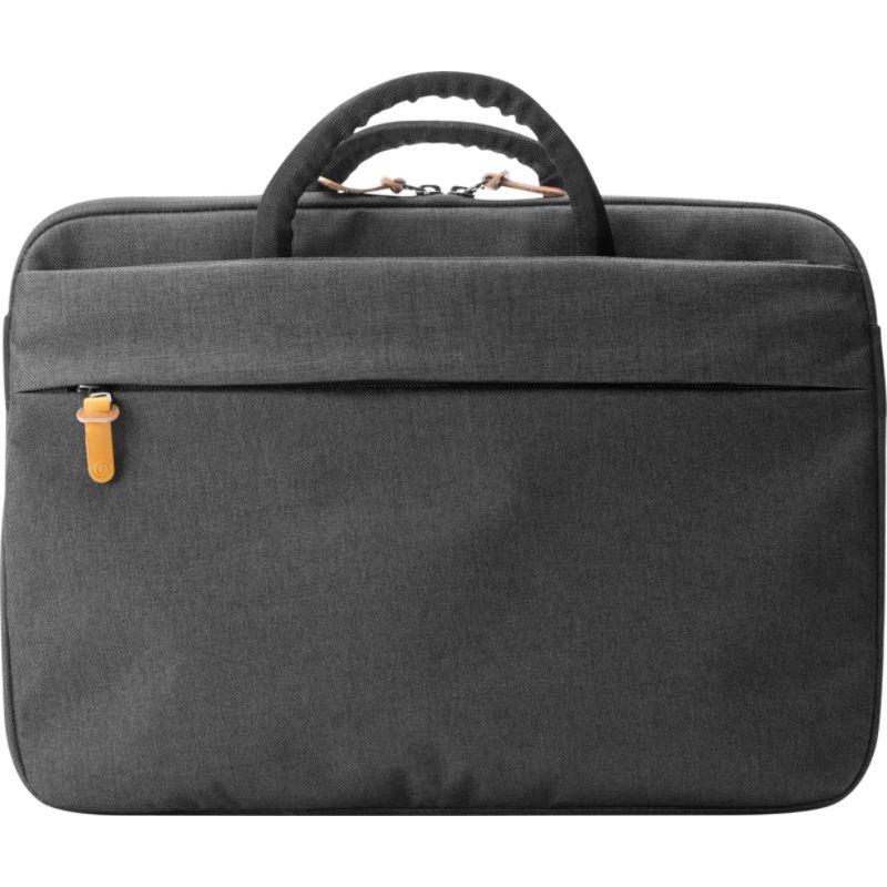ブーク メンズ スーツケース バッグ Superslim 15 Laptop Brief Black/Tan