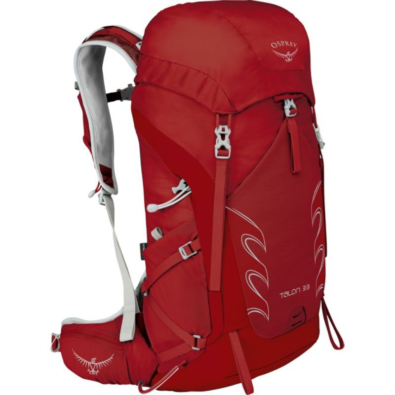 オスプレー メンズ バックパック・リュックサック バッグ Talon 33 Hiking Pack Martian Red M/L