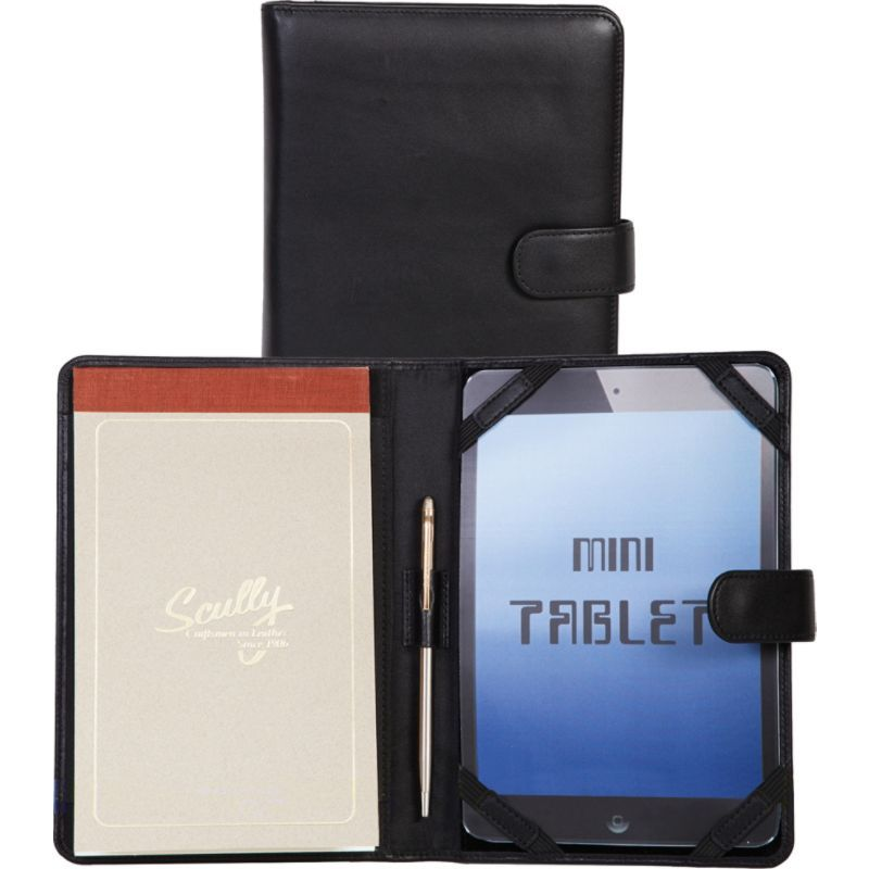 スカーリー メンズ PC・モバイルギア アクセサリー Mini Tablet Cover & Padfolio Black