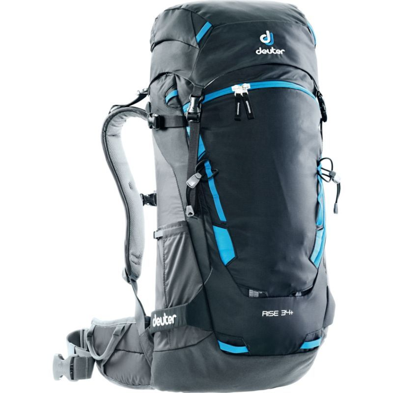 ドイター メンズ ボストンバッグ バッグ Rise 34+ Hiking Pack Black/Graphite