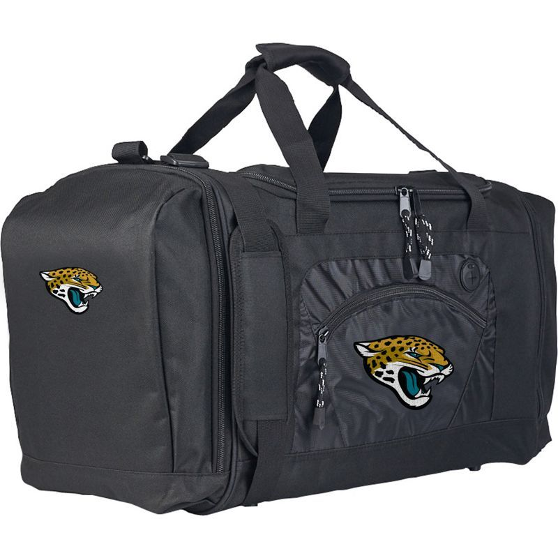 NFL メンズ ボストンバッグ バッグ Roadblock Duffel Jacksonville Jaguars