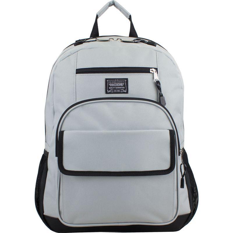 イーストポート メンズ バックパック・リュックサック バッグ Tech Backpack Soft Silver/Black
