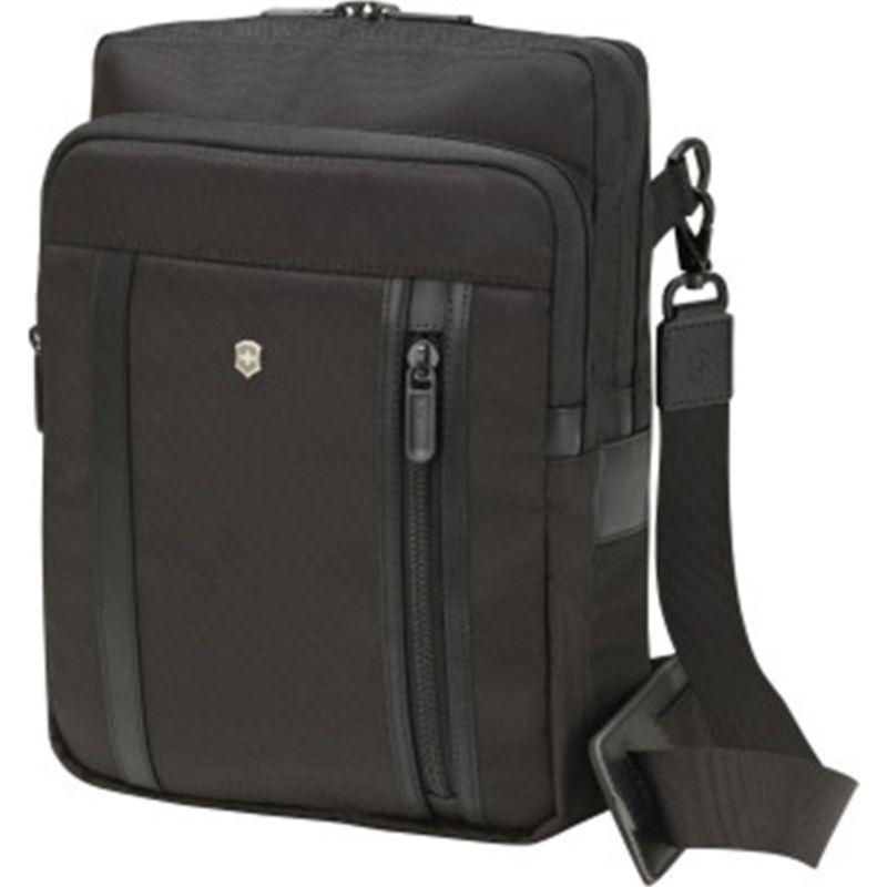 ビクトリノックス メンズ スーツケース バッグ Werks Professional 2.0 Crossbody Laptop Bag Black