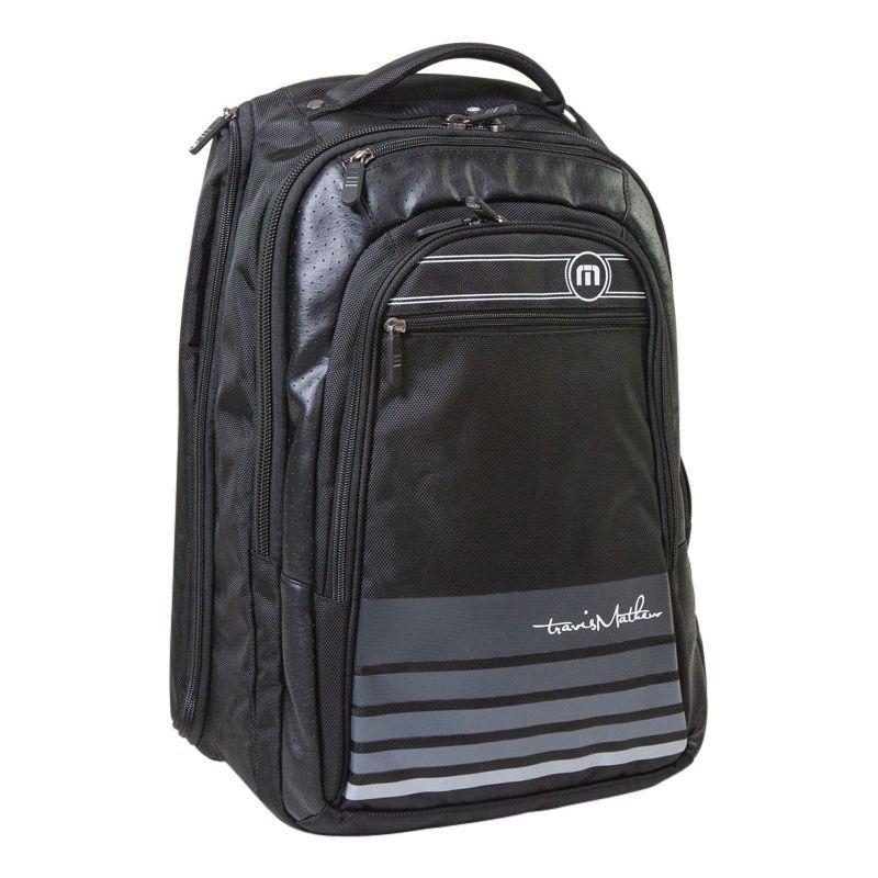 トラビスマヒュー メンズ スーツケース バッグ Laptop Backpack Black