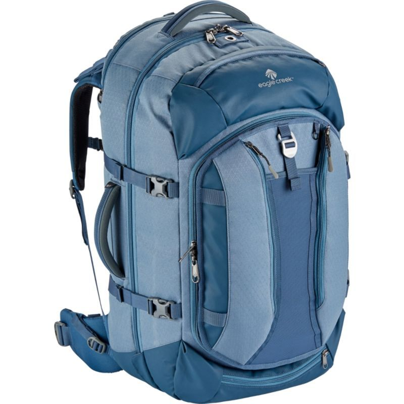 イーグルクリーク メンズ バックパック・リュックサック バッグ Global Companion 65L Backpack Smoky Blue