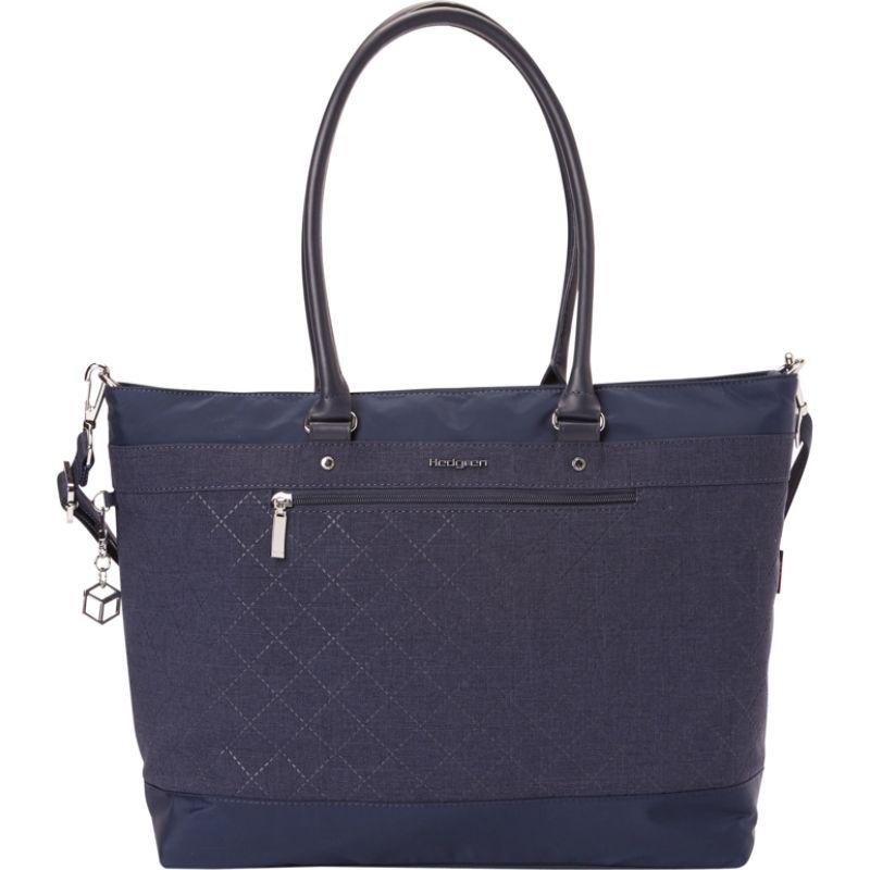 ヘドグレン メンズ スーツケース バッグ Zircon Large Tote 15.6 - eBags Exclusive Dress Blue